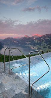 Hotel Villa in Honegg in Switzerland.