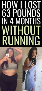 How I lost 63 pounds in 4 months without running