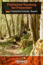 Püttlachtal Rundweg bei Pottenstein – Freiweg. Outdoor Activity Blog.