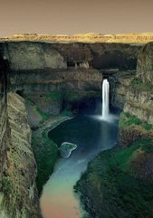 Palouse Falls East, WA, USA