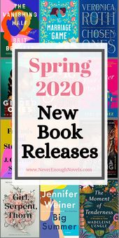 Spring 2020 New Book Releases – Never Enough Novels