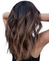 17 Stunning Dark Brown Hair with Blonde Highlights