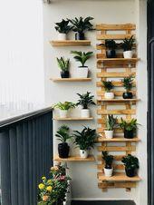 30 mejores jardines verticales con balcones Vives en un apartamento y …,  #apartamento #bal…
