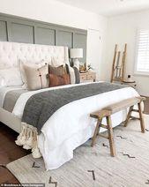 43+ Modern Rustic Master Bedroom Design Ideas