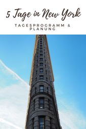 5 Tage in New York – Tagesprogramm & Planung • Join The Sunny Side