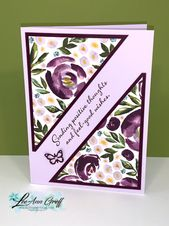 A new template for 6 X 6″ Designer paper – makes 3 fast, cute cards!