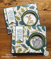 Animal Outing Peek-A-Boo cards