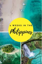 Best 2 week Philippines itinerary