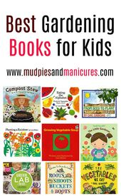 Best Books for Gardening with Kids