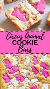Circus Animal Blondies – Kathryn's Kitchen