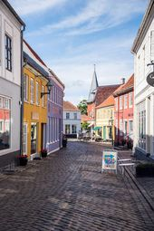 Ebeltoft, Denmark: Colorful Cobblestone Streets & a Sunny Harbor