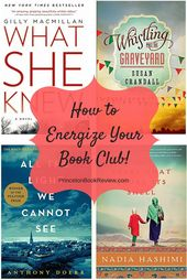 How To Find Amazing Books That Will Energize Your Book Club.