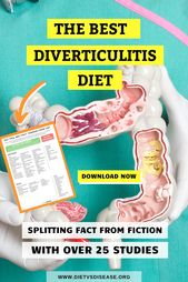 How To Treat Diverticulitis Diet, Flare Up, Recipes