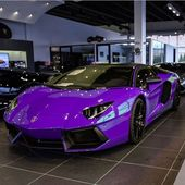 Lamborghini Aventador Roadster Painted in Royal Purple !  Lamborghini, Lambo, Av…
