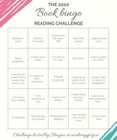 The 2020 book bingo reading challenge | Modern Gypsy
