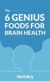 The 6 Genius Foods For Brain Health