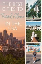 The Best Cities to Travel Alone in the USA • The Blonde Abroad