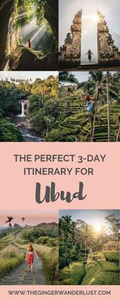 The Perfect 3 Day Ubud Itinerary – Top Things to Do