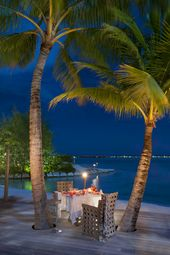The St. Regis Bora Bora Resort— Royal Estate – Dinner on Terrace