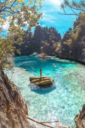 There's a Hidden Lagoon in the Philippines —and It's Like Something Out of a Dream