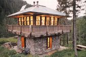 awesome tiny house idea THIS THIS THIS. WANT. This would be great as my stone co…