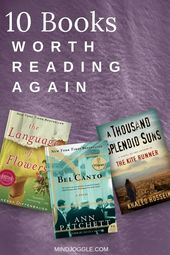 10 Books Worth Reading Again (Or for the First Time) | Mind Joggle
