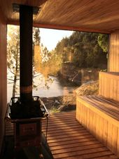 10 inspiring designs for the perfect lakeside sauna   Cottage Life