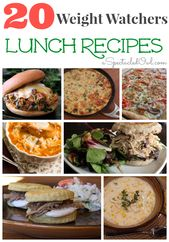 20 Weight Watchers LUNCH Recipes – A Spectacled Owl