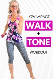 25 Moment Wander + TONE Exercise for Girls in excess of 50 • Pahla B Exercise