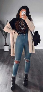 50 Stylish And Casual Wintertime Outfits For Teenager Ladies Again To College – Women Style Way of life Weblog Shinecoco.com