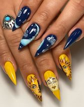 70 Fresh new Design and style Thoughts for Almond-Formed Nails