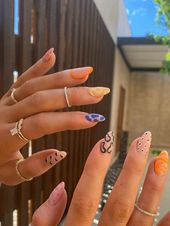Abstract Nails Are The New Trend Taking Over Instagram, And Kylie Jenner Is Officially A Fan