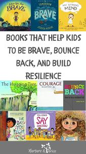 Books that Help Kids to Be Brave, Bounce Back, and Build Resilience
