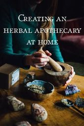 Creating an Herbal Apothecary at Home | Ginger Tonic Botanicals