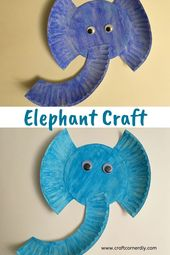 Cute and Easy Elephant Craft