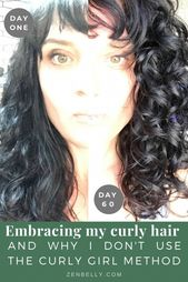 Embracing my curly hair (and why I don't use the curly girl method)