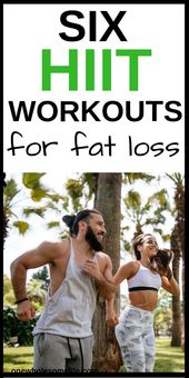 HIIT Workouts for Fat Burning