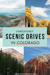 Hit the Road with These Unbelievably Scenic Drives in Colorado