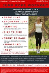 Hotel Workout: Jump Rope – Business Travel Life