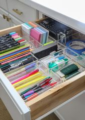 How to Customize Drawers with Off-the-Shelf Drawer Organizers   The Residences I Have Created