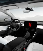 tesla to enable in-car netflix and youtube video streaming 'soon'