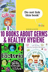 10 Books to Inspire Good Handwashing & Healthy Hygiene Habits