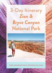 3-Day Zion National Park Itinerary – Brown Eyed Flower Child