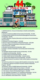 44 Public Health Scholarships