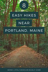 8 Easy Trails for Hiking Around Portland, Maine – Life Lived Curiously