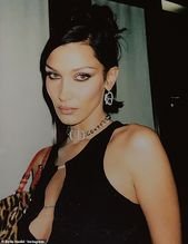 Bella Hadid bares sufficient cleavage in sultry new Instagram pictures