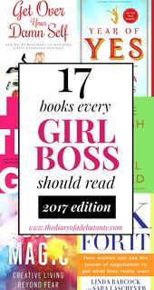 Books for Female Entrepreneurs to Read in 2017 | Diary of a Debutante