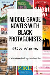 Middle Grade Books with Black Protagonists