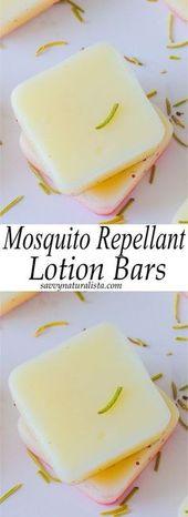 Mosquito Repellent Lotion Bars – Savvy Naturalista