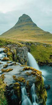 Mountain Kirkjufell in Iceland
